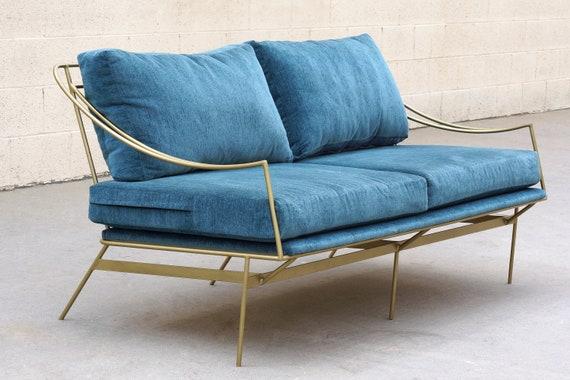 Wondrous Aangepaste 1960S Geinspireerd Haarspeld Sofa Door Rehab Vintage Interieurs Gratis U S Verzending Uwap Interior Chair Design Uwaporg