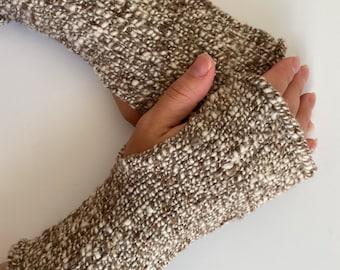 Fingerless Mittens - Babydoll Southdown Wool