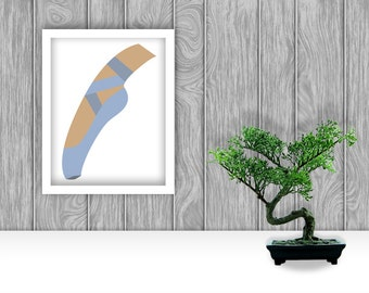 On Pointe Digital Art Print