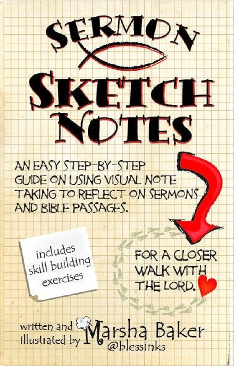 Sermon Sketchnotes an easy step by step guide to visual note image 0