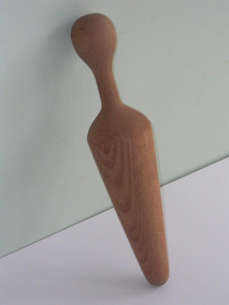 Vintage Wood Cone Pestle Masher