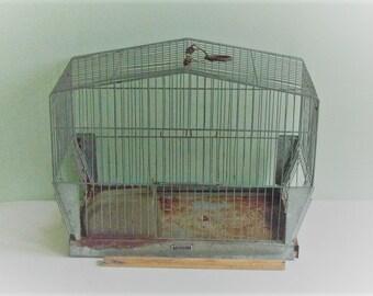 Vintage Wire Hendryx Bird Cage