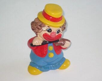 Vintage Clown Piggy Bank