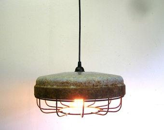 chicken feeder light, cage light, industrial light