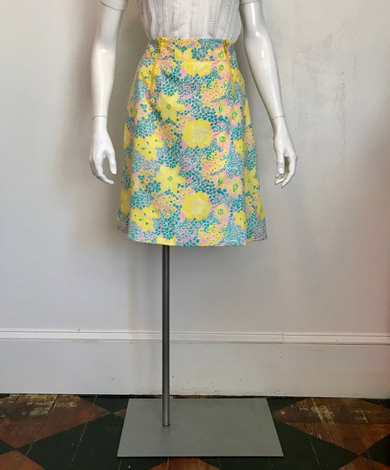 1960's 'The Lilly' by Lilly Pulitzer bright floral