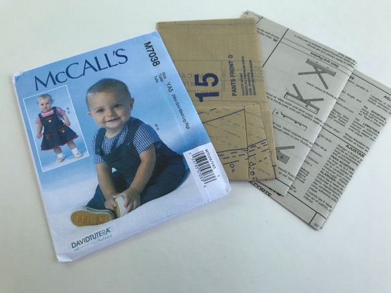 McCall\'s baby clothes sewing pattern/ baby clothes/ sewing patterns ...