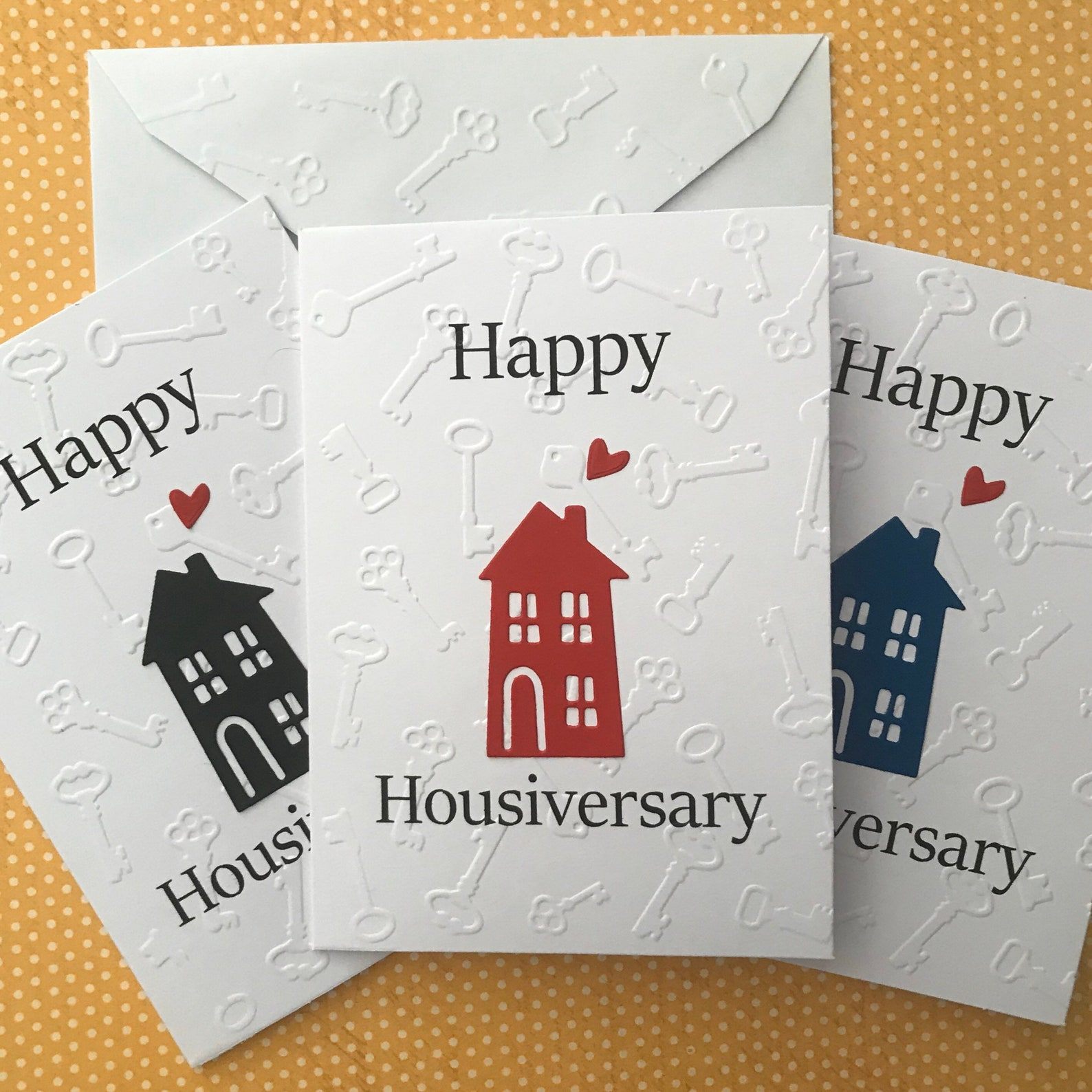 Happy Housiversary House Card