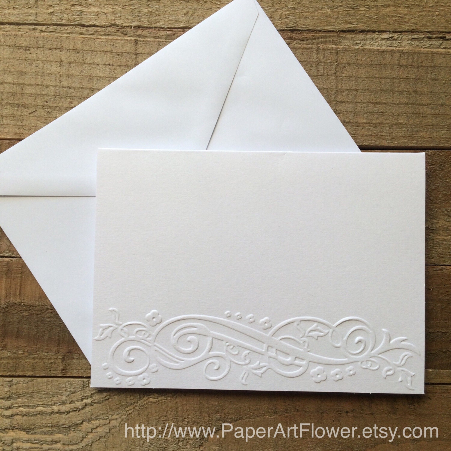 flourish border cards white embossed note cards greeting