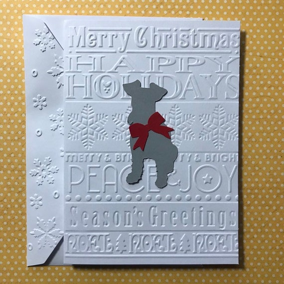 Dog Christmas Card Photo.Schnauzer Merry Christmas Cards Card Dog Christmas Cards Greeting Cards Stationery Set Blank Note Card And Envelopes