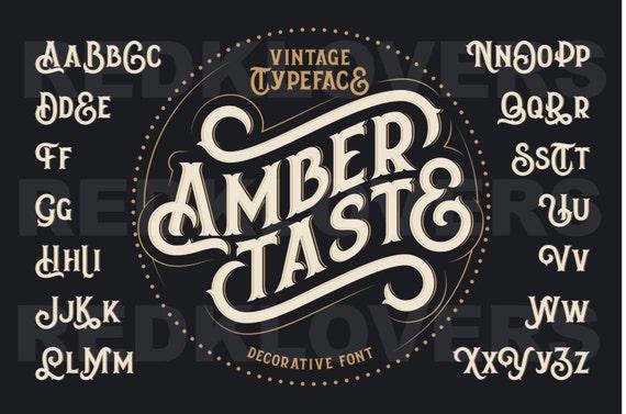 svg silhouette dxf vintage font lettering hipster chalk design etsy