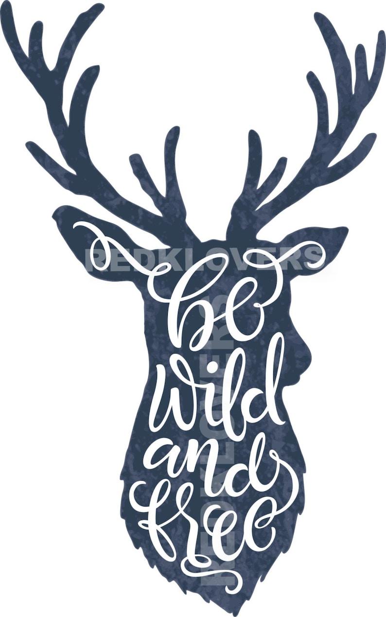 SVG DXF Deer Antlers, Horns Wild Free Digital Download files svg , ai, psd,  png, pdf tshirt designs