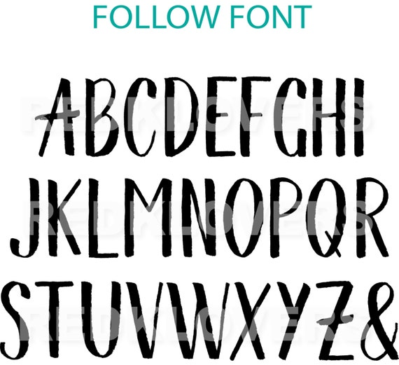 block letters font svg silhouette dxf font block calligraphy chalkboard 20642 | il 570xN.1064677092 1g1d