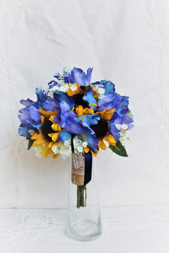 Wedding Bouquet Sunflower Bridal Bouquet Rustic Bouquet | Etsy