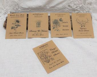 Bridal Shower Seed Favors. Bridal Shower Decorations. Bridal Shower Gifts. Rustic Bridal Shower Favors. Bridal Shower Decor.