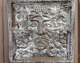 Delicieux Greenman, Green Man, Greenman Sculpture, Plaque And Tile. Greenman Wall  Hanging, Greenman With Grapes Home Decor, Greenman Garden Plaque