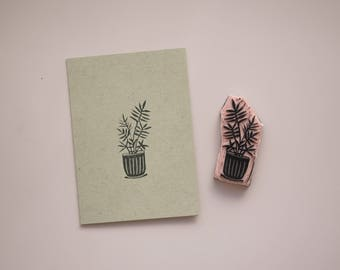 Mini Houseplants Cards / Handmade Stationery