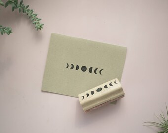 Phases of the Moon Cards / Handmade Stationery