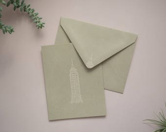 Empire State Building Cards / Handmade Stationery