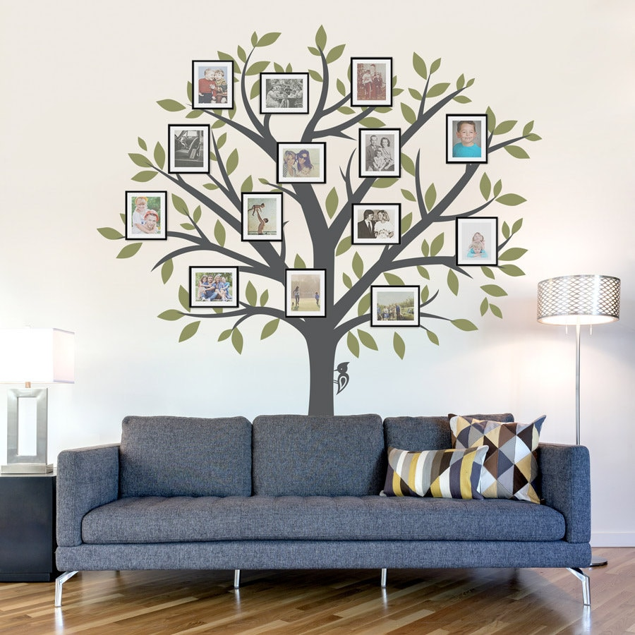 1570d6af7 Family Tree Wall Decal Tree Wall Sticker Nature Wall Decal
