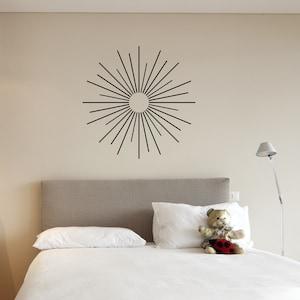 Vinyl Wall Decal Sticker Abstract Circle Corners OSMB1177B