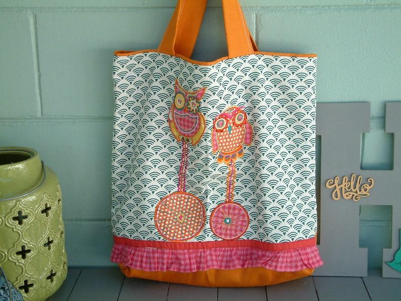 Tote Owl Tote Shoulder Bag Morethanasmile