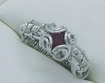4 mm CZ Ring