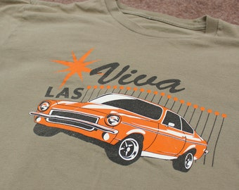 4c623d1d9 Chevy Vega T-shirt // Viva Las Vegas // retro car shirt // chevrolet // classic  muscle car shirt