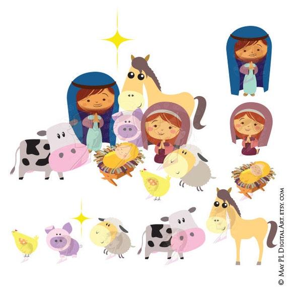 Christmas Nativity Stable Scene Baby Jesus Christ Birth Manger