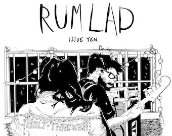 Rum Lad #10 comic-zine