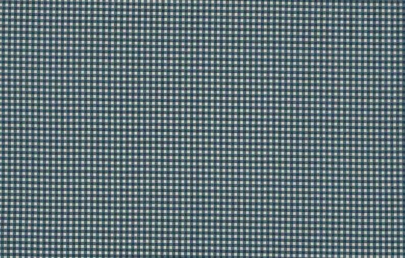 Cotton Fabric  Fat Quarter Makower New Gingham Light Blue