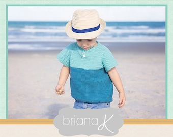 T-shirt Crochet Summer PATTERN Instant Download