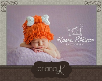 PATTERN Instant Download, Newborn-Adult Cave Baby / Cave Child / Cave Woman