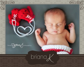 Baby Boxer Gloves and Boxing Shorts PATTERN Instant Download, Preemie- 6 Months,