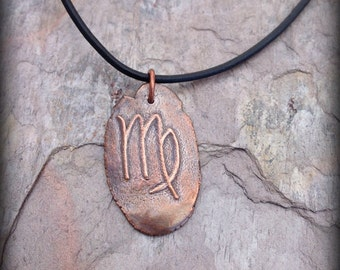 Virgo pendant The Virgin astrological sign