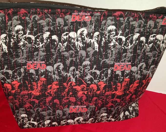 The Walking Dead Quilted Novelty Tote