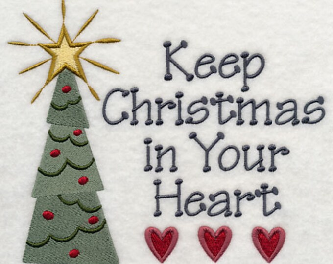 "Holiday ""Keep Christmas In Your Heart"" Sweatshirt"