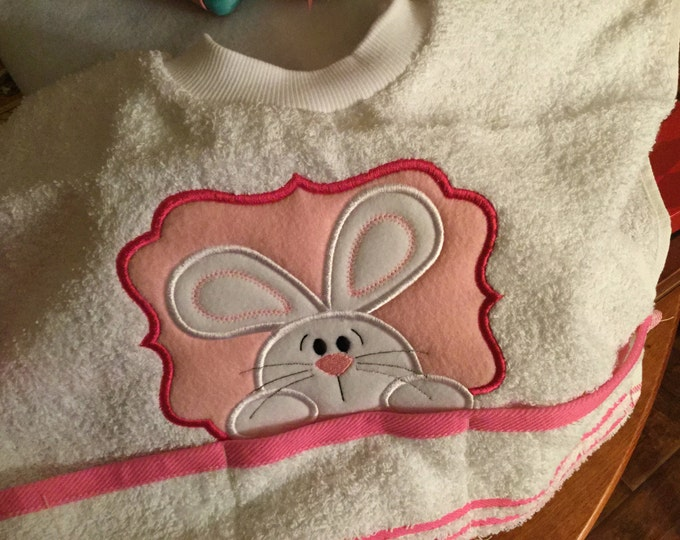 Easter Toddler Towel Bib