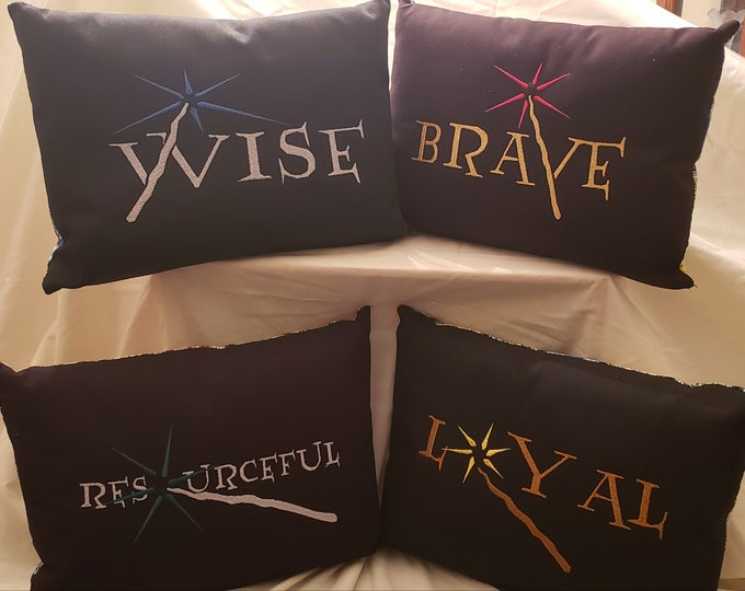 "Fantasy Themed ""Wand Pillows"""
