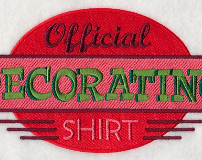 "Holiday ""Official Decorating Shirt"" Sweatshirt"
