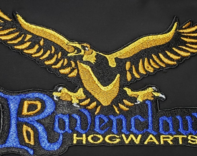 "Novelty Embroidered Themed Harry Potter ""Ravenclaw Mascot"" Pillow"