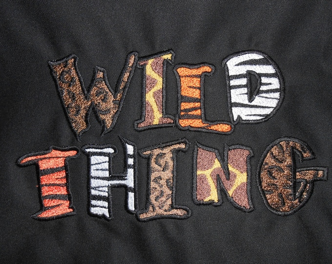 Wild Thing Novelty Apron