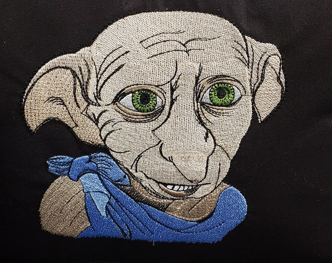 Harry Potter- Dobby Embroidered Novelty Pillow