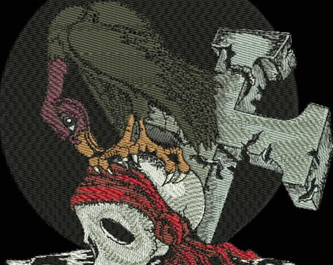 Gothic Skull Sweatshirt