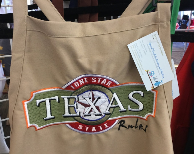Texas Rules Adult Apron