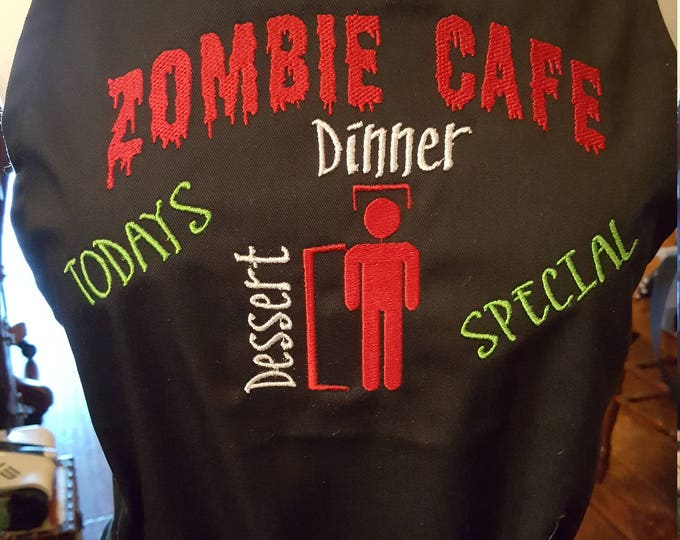 "Novelty ""Zombie Cafe"" Adult Apron"