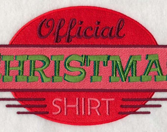 "Holiday"" Official Christmas Shirt"" Sweatshirt"
