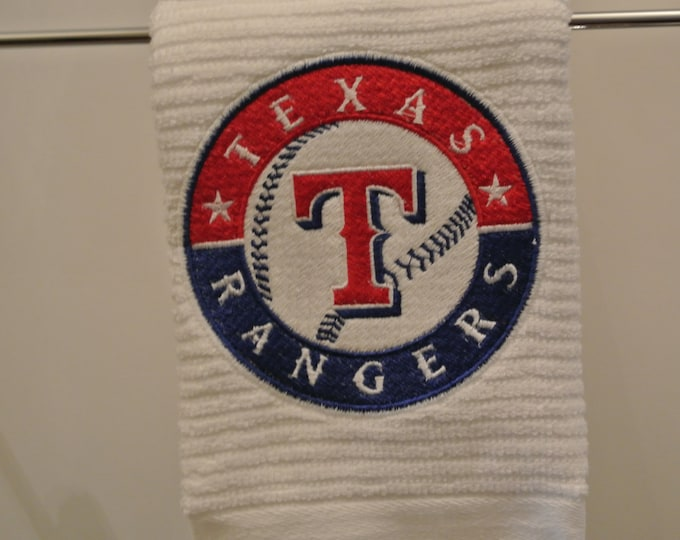 Texas Rangers: Novelty Barmop Hand Towel