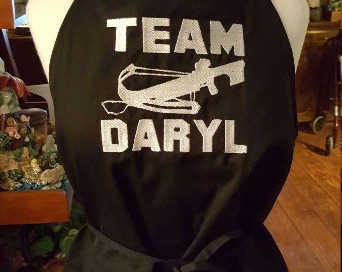 "Novelty Apron ""Team Daryl"""