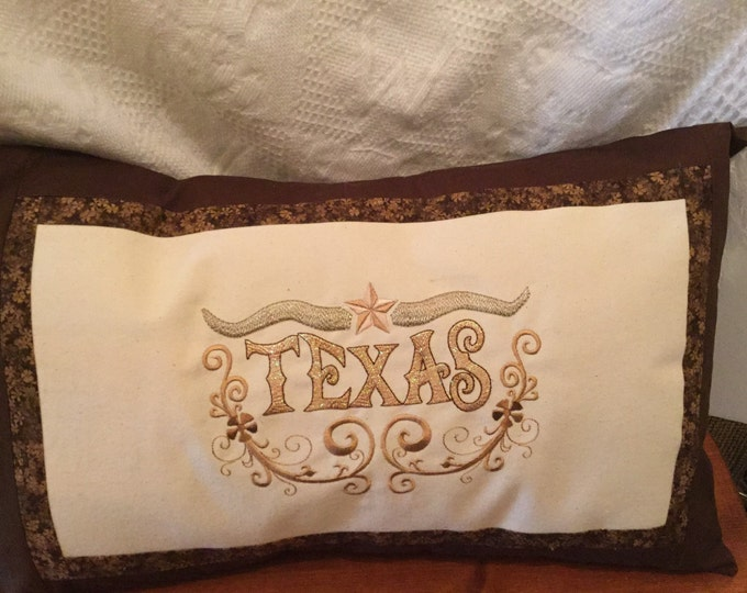 Texas Mylar Envelope Pillow