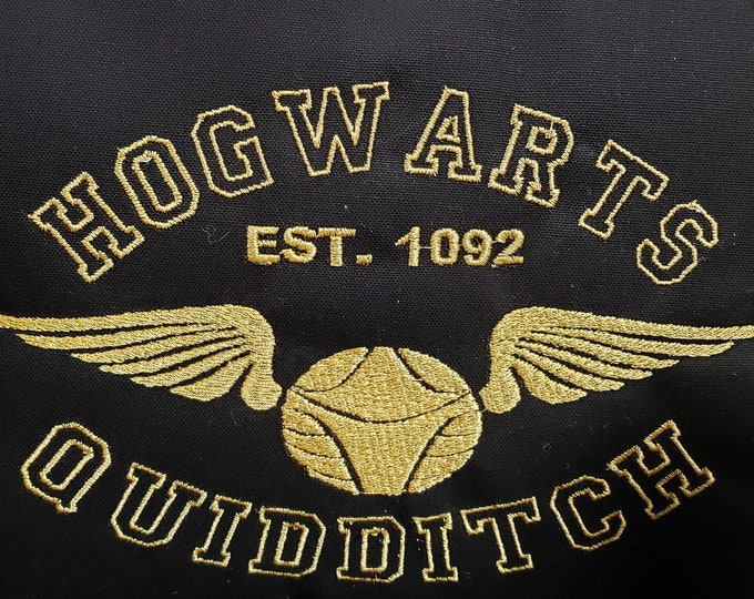 Harry Potter Hogwarts Quidditch Pillow
